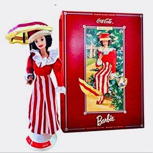 NEW Collector Barbie Coca Cola After the Walk
